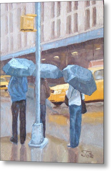 Another Rainy Day Metal Print by Tate Hamilton