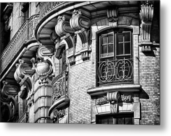 Ansonia Building Detail 36 Metal Print