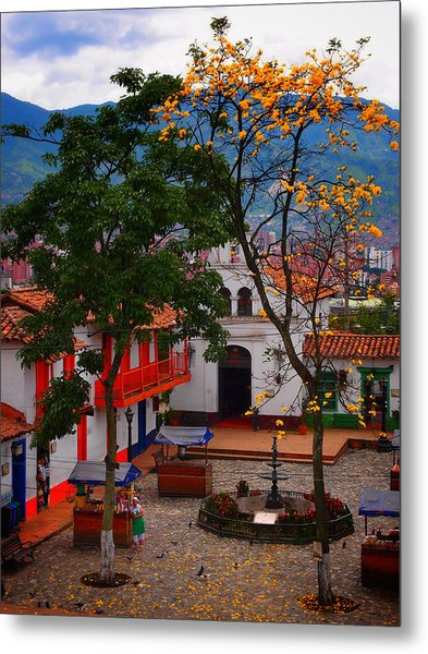 Metal Print featuring the photograph Antioquia by Skip Hunt