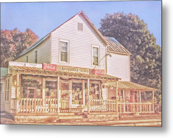 Antique Store, Colonial Beach Virginia Metal Print