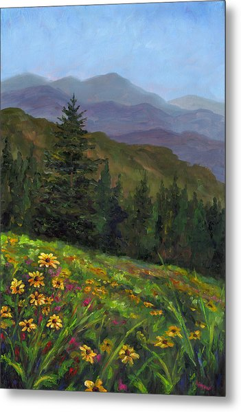 Appalachian Color Metal Print by Jeff Pittman