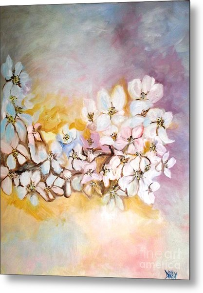 Apple Blooms Metal Print