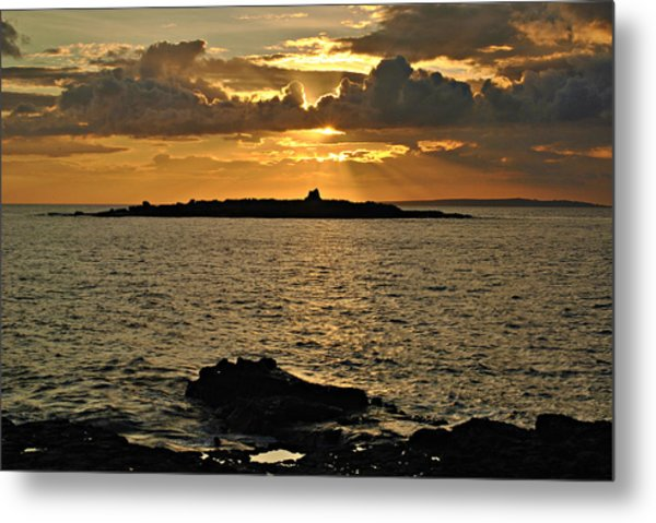 Aran Sunset Metal Print