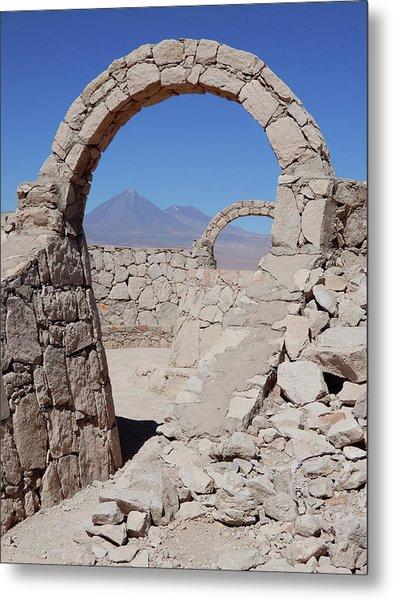 Pukara De Quitor Arches Metal Print