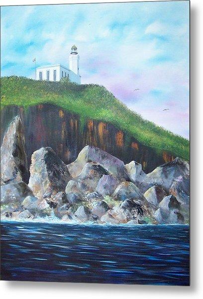 Arecibo Lighthouse Metal Print by Tony Rodriguez
