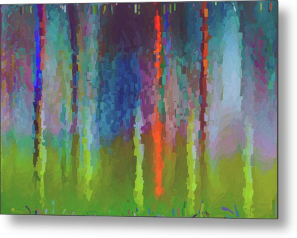 Art Abstract Metal Print by Jim Hatch