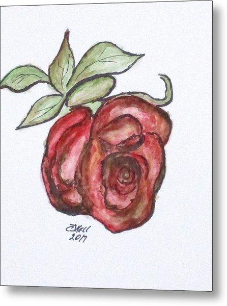 Art Doodle No. 29 Metal Print