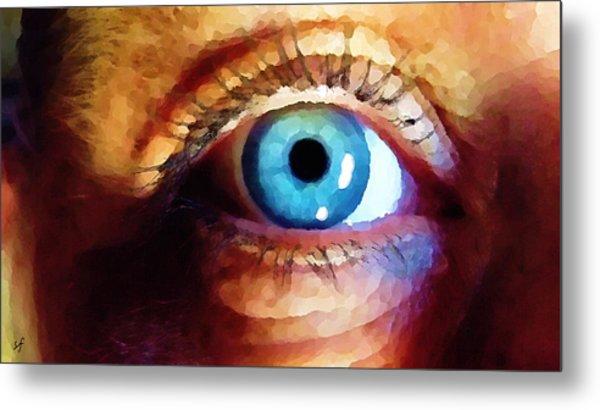 Artist Eye View Metal Print