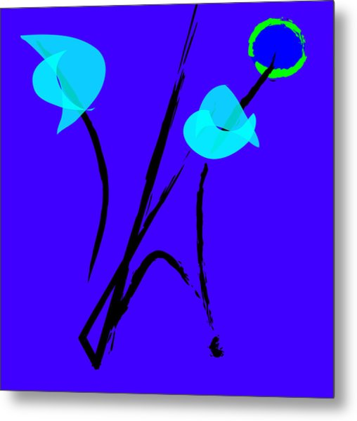 Asian Garden Metal Print by Susie Nelson