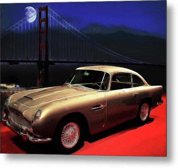 Aston Martin Db5 Metal Print