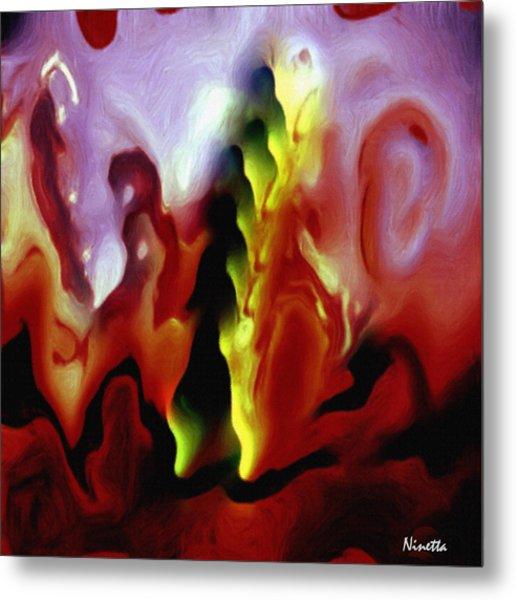 Astral Body Metal Print by Andrea N Hernandez