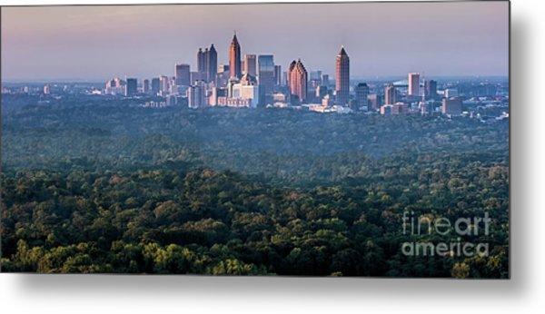 Atlanta Skyline Metal Print