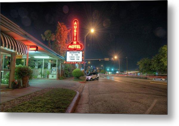 Austin Motel Metal Print