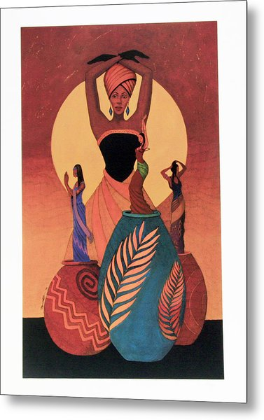 Awakening Metal Print by Albert and Simone Fennell