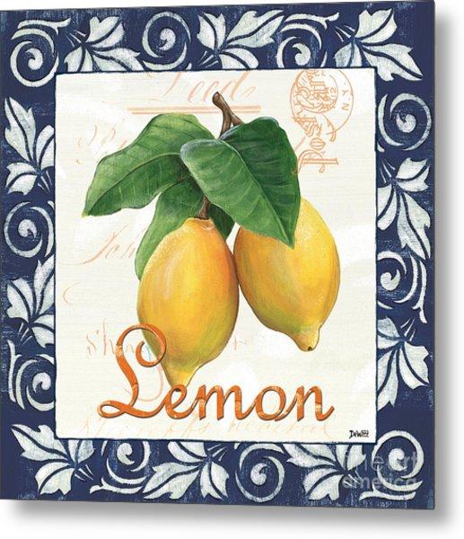 Azure Lemon 1 Metal Print