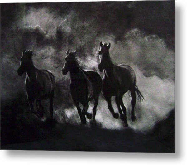 Back To The Wild Metal Print