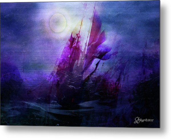 Bad Moon Rising Metal Print