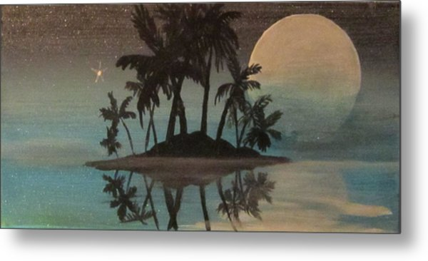Bad Moon Sparkles   Metal Print