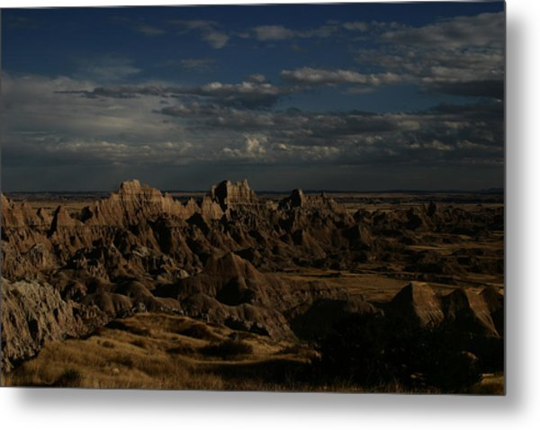 Badlands National Park Metal Print