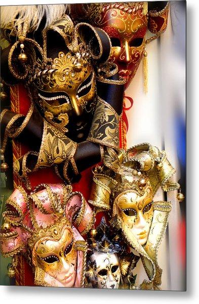 Bal Masque Metal Print