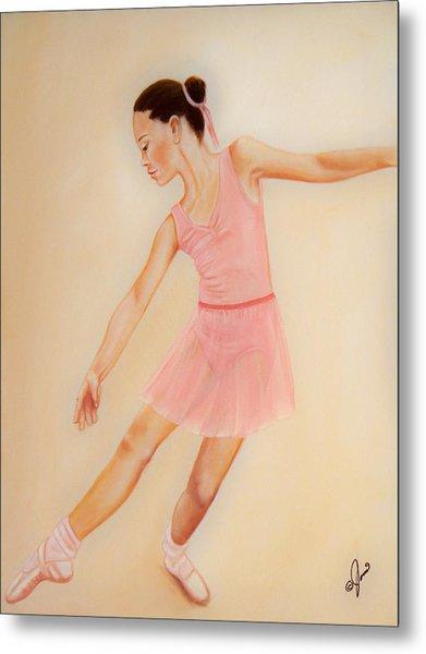 Ballet Practice Metal Print
