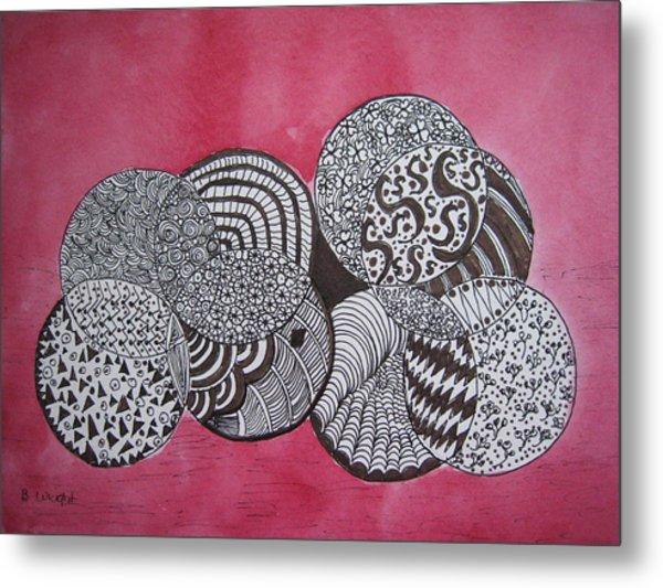 Balls Of Yarn Metal Print by Bonnie Wright