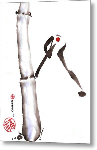 Bamboo Spirit Dance Metal Print