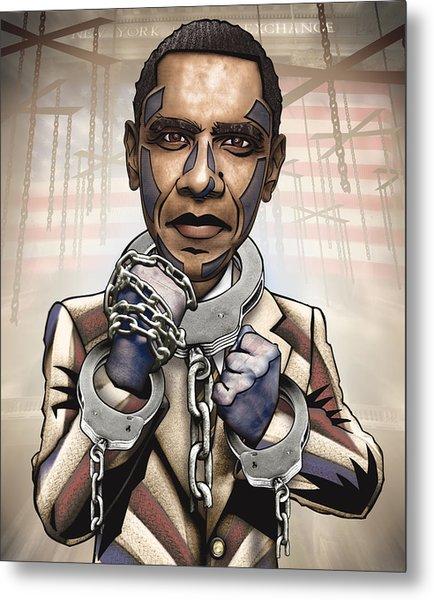 Barack Obama - Stimulate This Metal Print