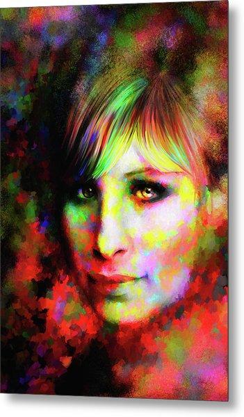 Barbara Streisand Metal Print
