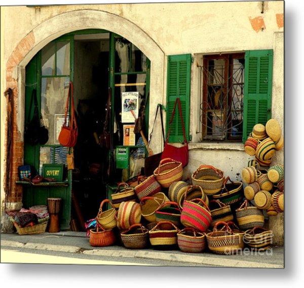 Baskets Anyone Metal Print