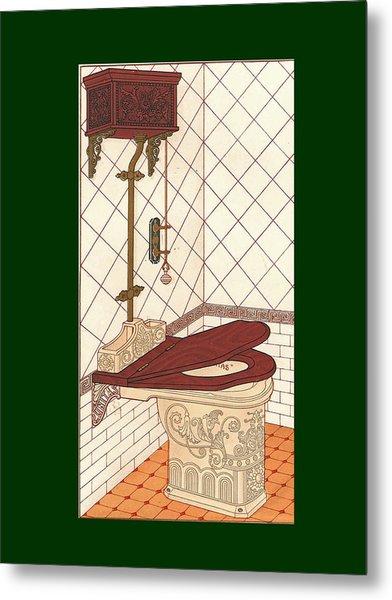 Bathroom Picture One Metal Print