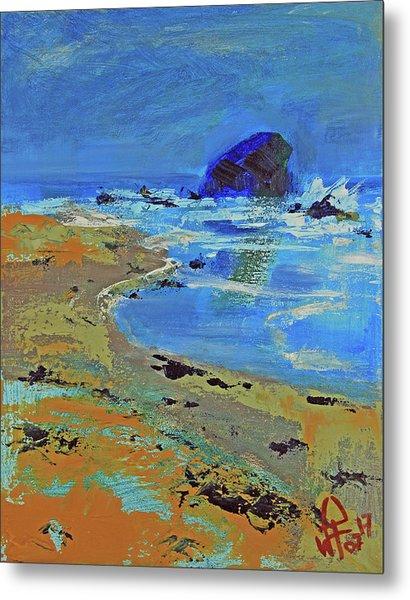 Beach Solitude Metal Print