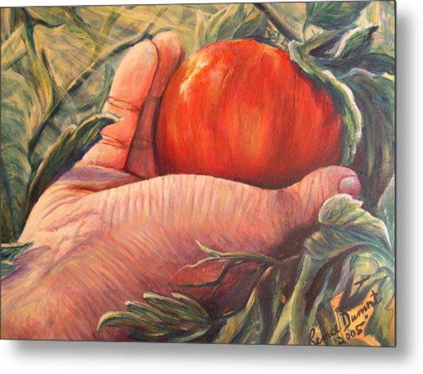 Bearing Good Fruit Metal Print by Renee Dumont  Museum Quality Oil Paintings  Dumont
