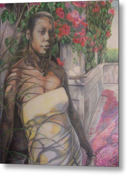 Beautiful Flower Metal Print by Joyce McEwen Crawford