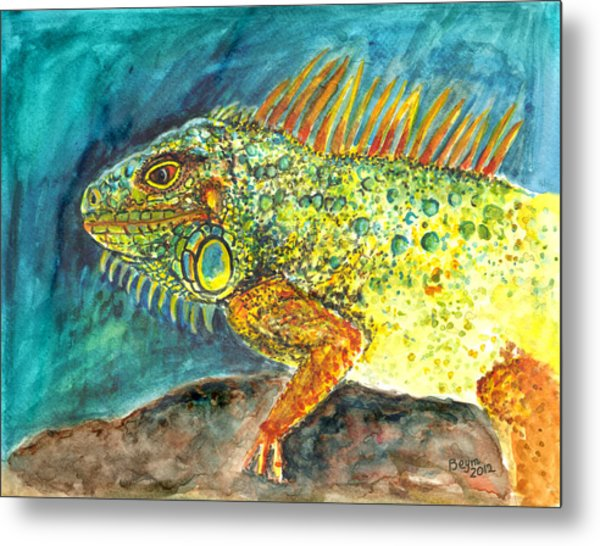 Beautiful Monster Metal Print