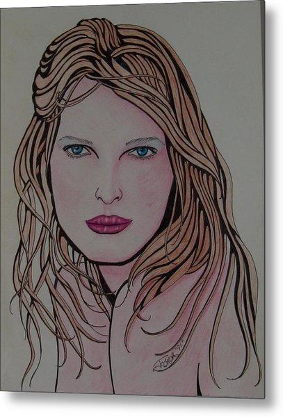 Beauty 1 Metal Print by Joshua Armstrong