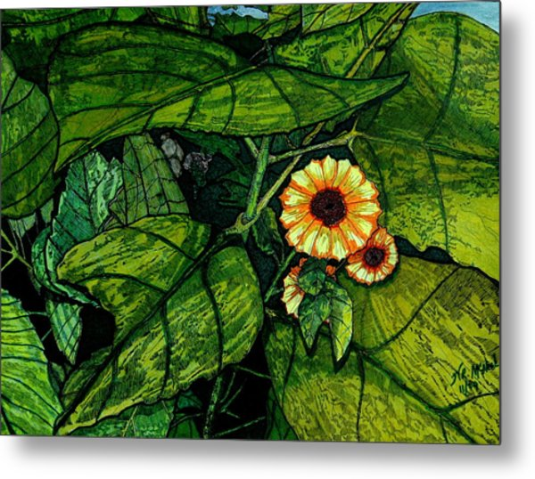 Beauty In The Midst Metal Print by Willie McNeal