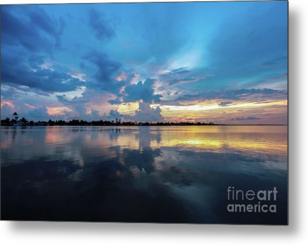 Beauty Over The Water Metal Print