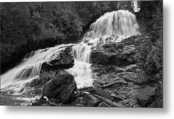 Beaver Brook Falls Metal Print