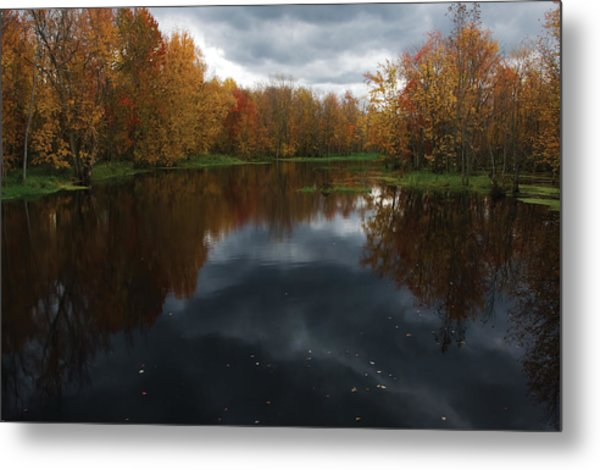 Beaver River Dramatic Metal Print