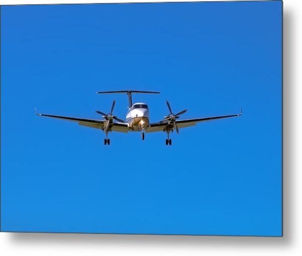 Beechcraft Super King Air 350 Metal Print