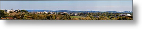 Behind Pats Hill Metal Print