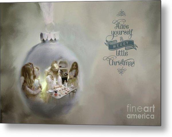Believe In The Magic Of Christmas Metal Print
