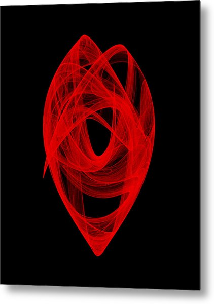 Bends Unraveling I Metal Print