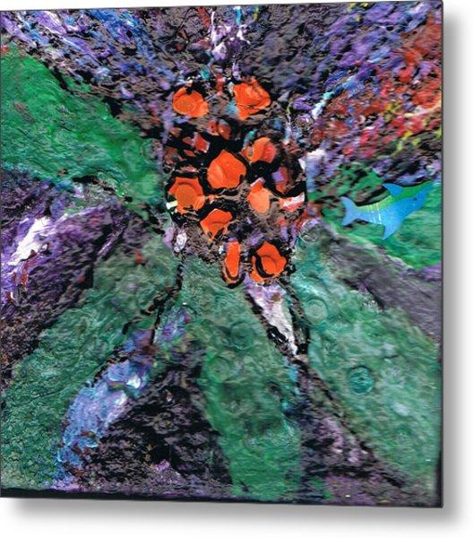 Berries Bursting Bright Metal Print by Anne-Elizabeth Whiteway