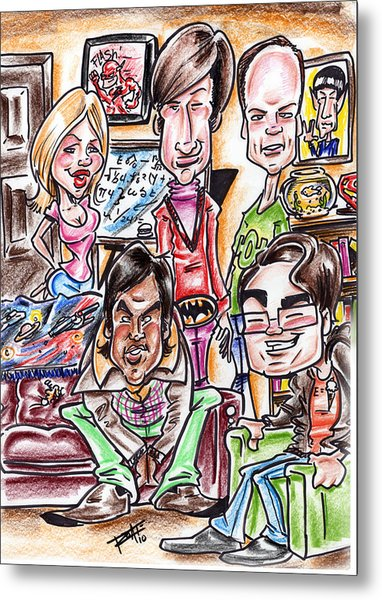 Big Bang Theory Metal Print by Big Mike Roate
