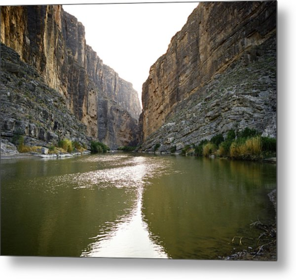 Big Bend Rio Grand River Metal Print
