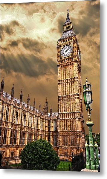 Big Ben's House Metal Print