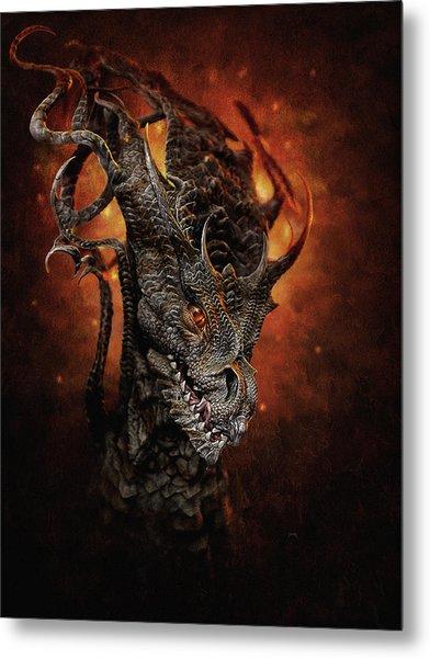 Big Dragon Metal Print