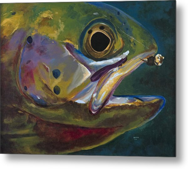 Big Trout Metal Print